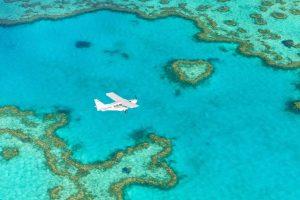 Ocean Rafting Islands and Reef Scenic Flight Over Heart Reef