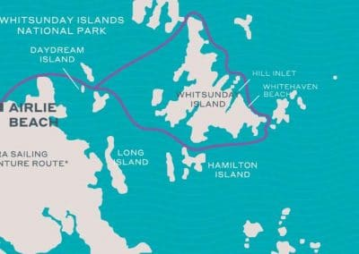 whitsundays tour map