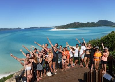 Hill Inelt lookout at whitehaven beach