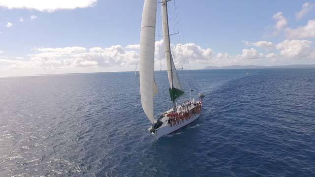 Spank Me Whitsundays Under Full Sail