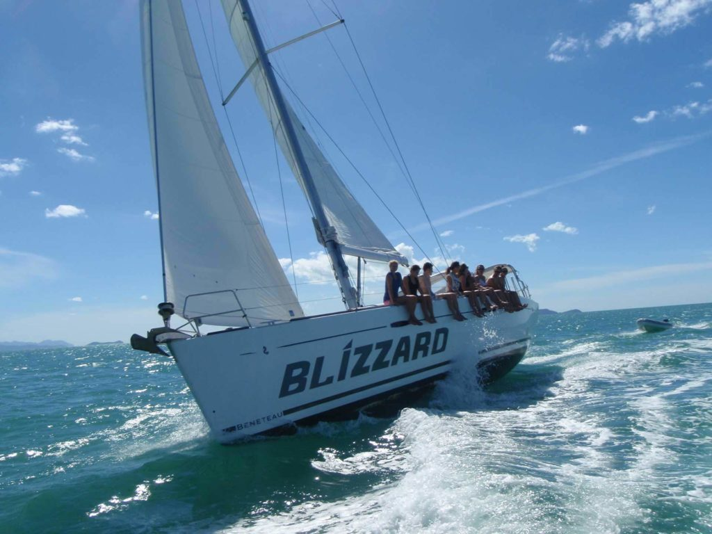 Blizzard Whitsundays Tour Under Sail