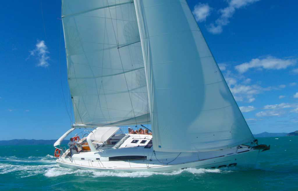 Blizzard Whitsundays Under Sail