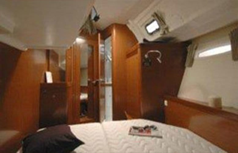 private room with ensuite on the boat
