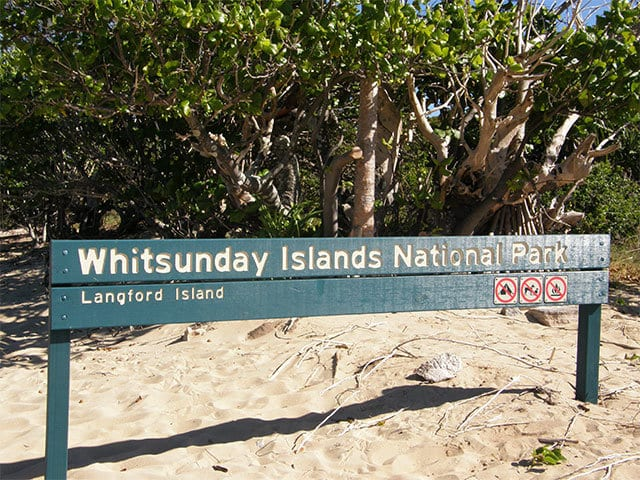 visit langford island bushwalk in the whitsundays