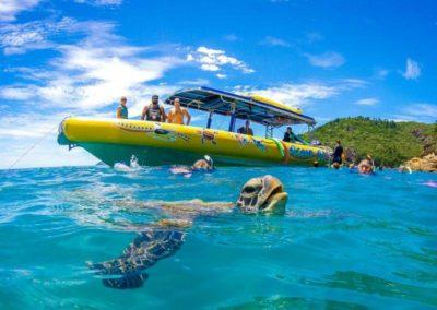 snorkelling with ocean rafting