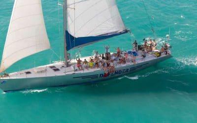 British Defender Whitsundays Adventure Yacht Tour