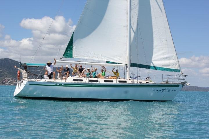 Prima Whitsundays Islands Sailing Tour | Whitsunday Islands