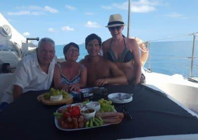 Food On the sailing tour