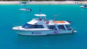 Whitehaven Xpress day tour from Airlie beach