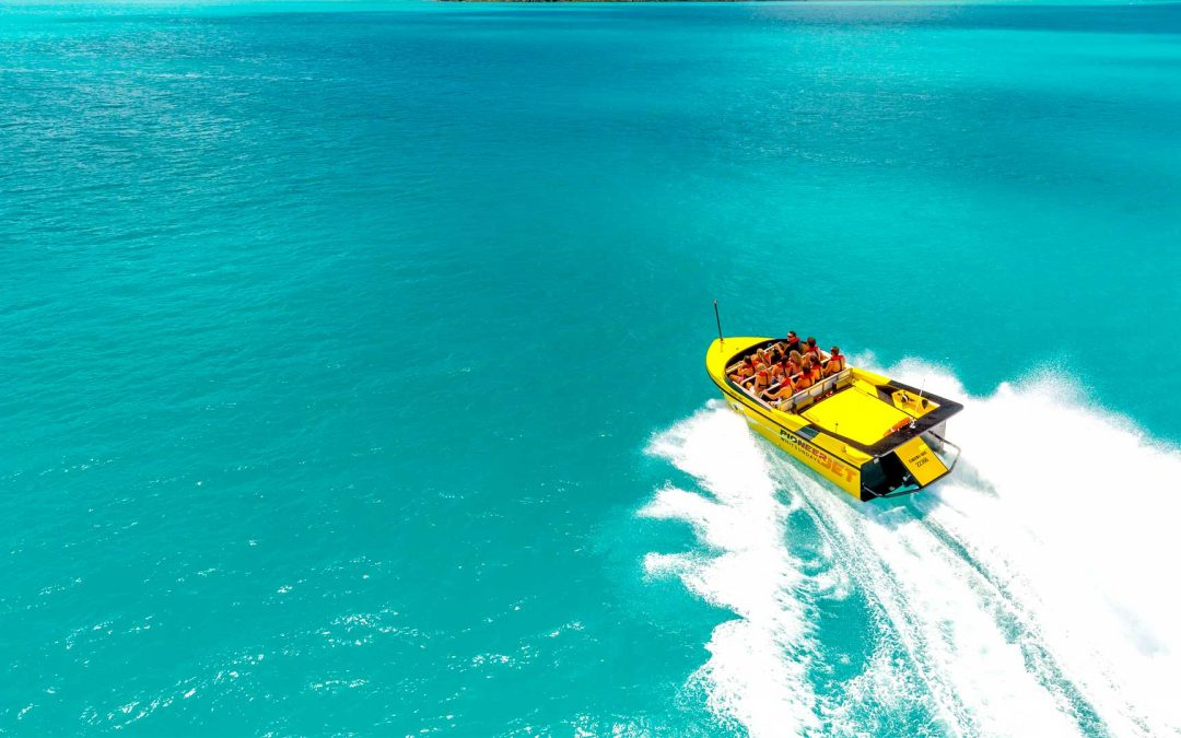 Airlie Beach Jet Boat Tour From Coral Sea Marina