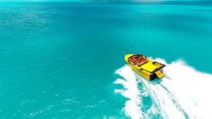 airlie beach jet boat tour on the water
