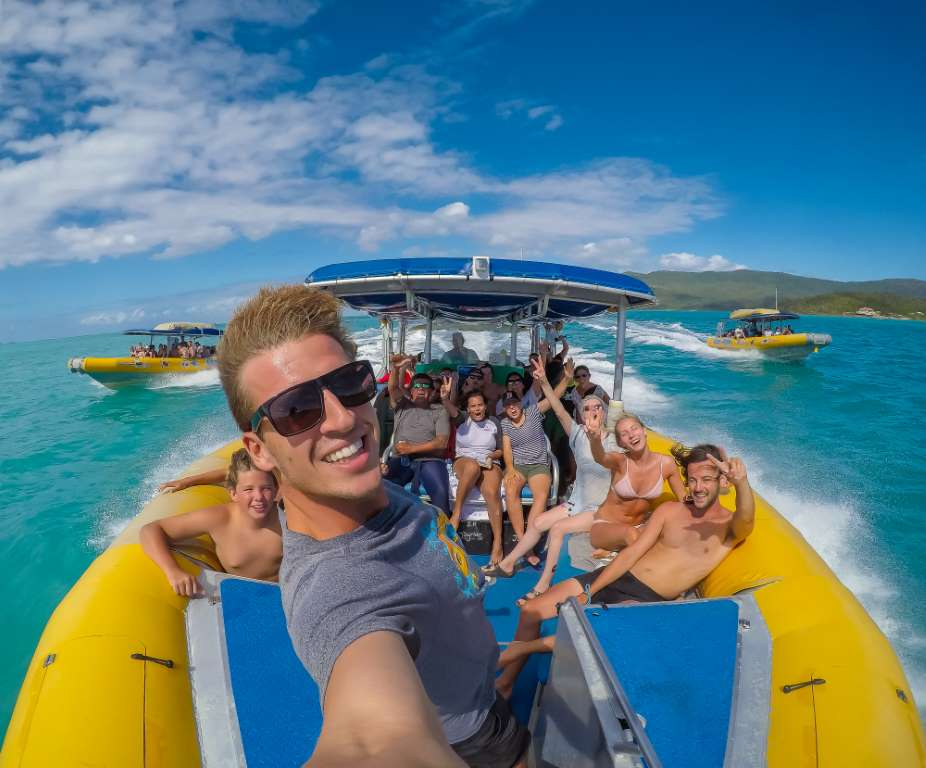 Ocean Rafting Northern Exposure Tour Departing Airlie Beach